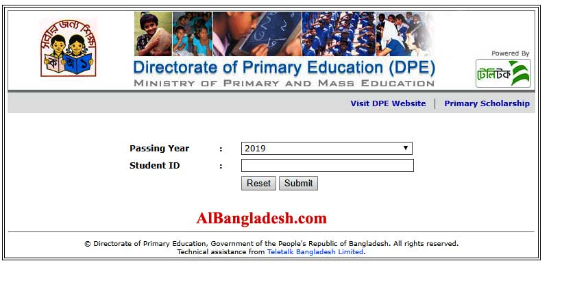 PSC Result 2019 Chittagong Board With Marks