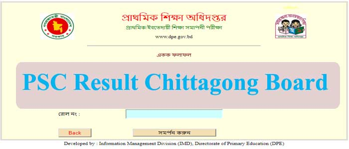PSC Result 2019 Chittagong Board With Marksheet