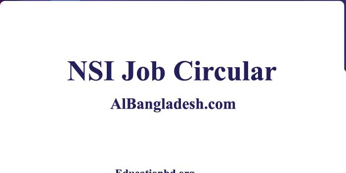 National Security Intelligence NSI Job Circular 2021