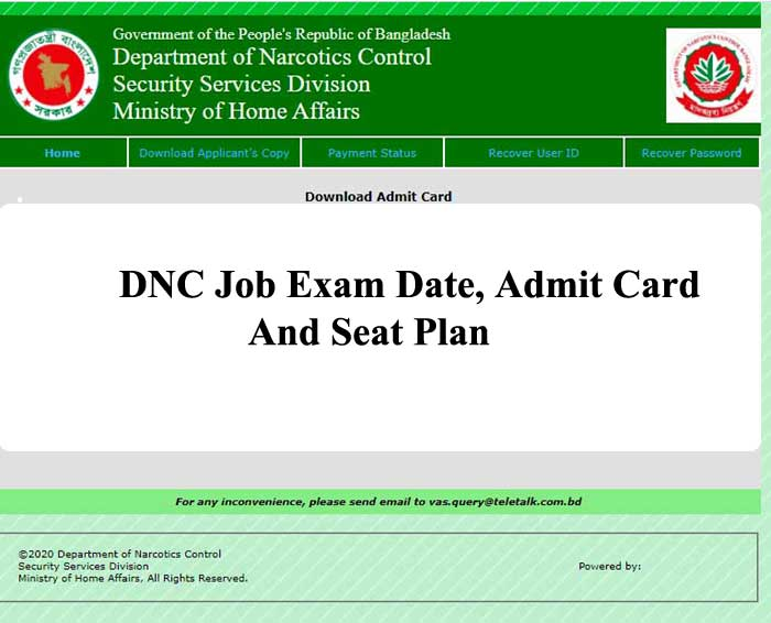 DNC Exam Date 2021, Admit Card And Seat Plan| Wireless Operator