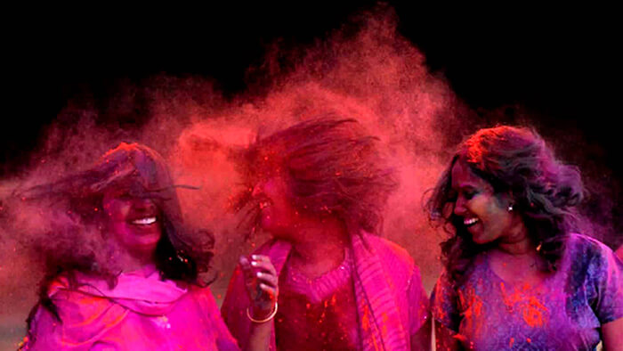 Images of holi festival with quotes