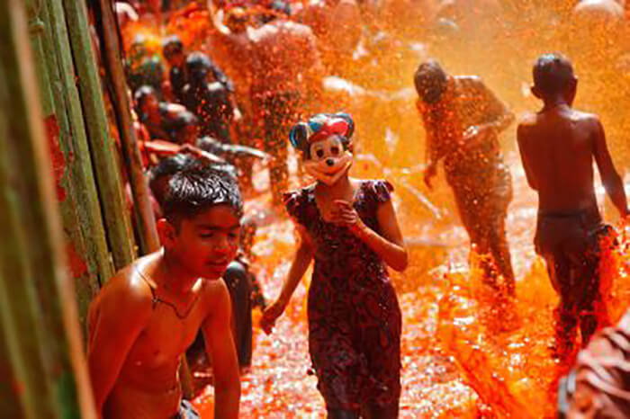 Happy holi Images for kid