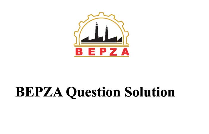 BEPZA Question Solution 2021 – Assistant Manager