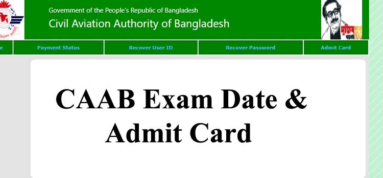 CAAB Exam Date 2021 And Admit Card Download